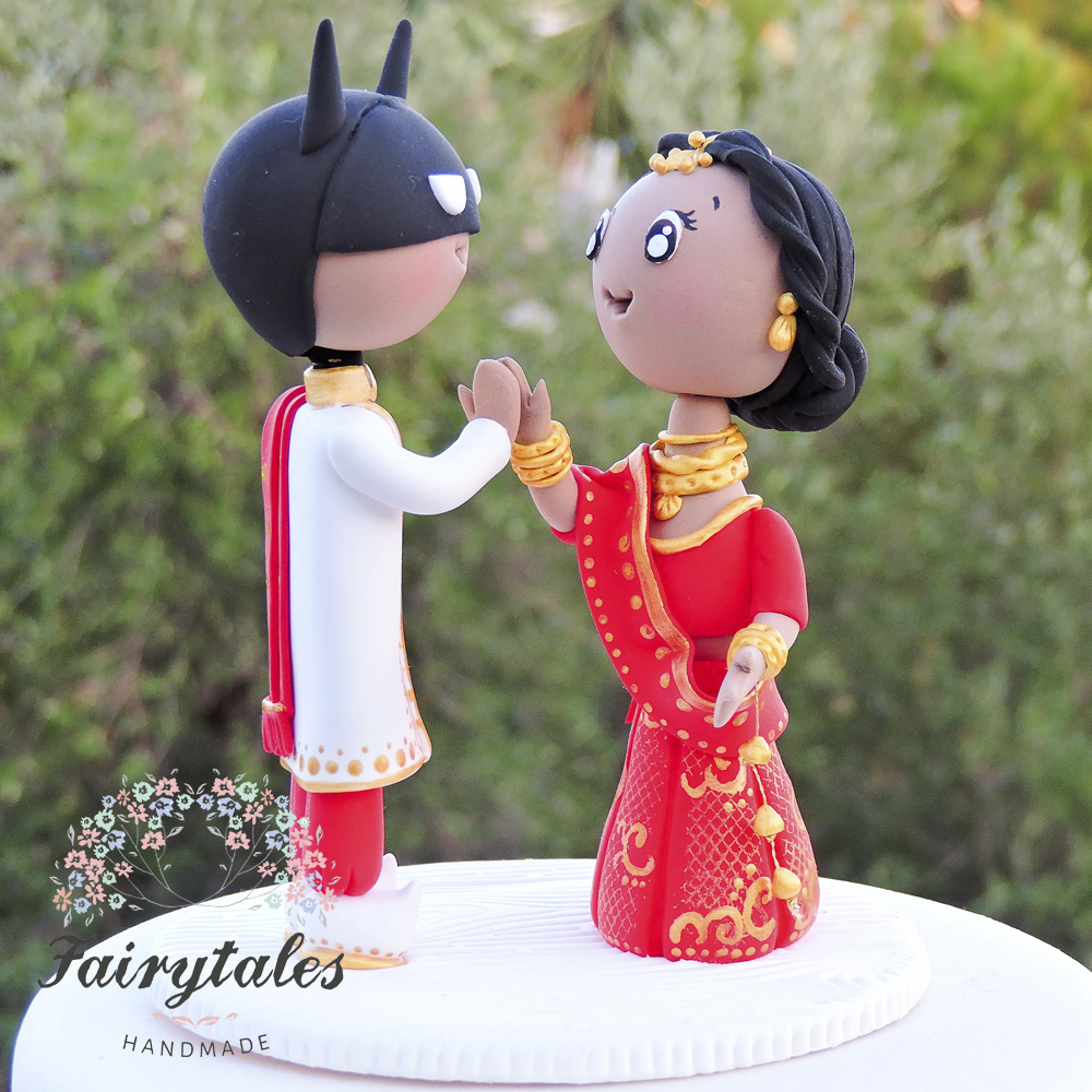 hindu wedding cake toppers indian wedding cake topper with fairytales 15241