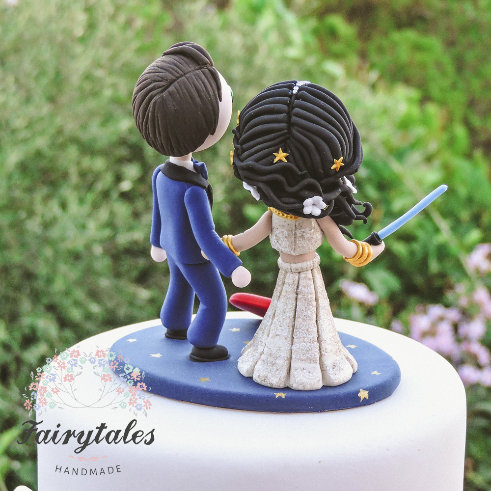 custom made wedding cake toppers personalized wedding cake topper fairytales handmade 3246