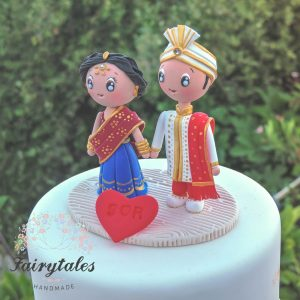 wedding cake indian toppers indian wedding cake topper fairytales handmade 22974